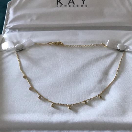 Kay Jewelers Diamond Necklace 3/4 ct tw Gold Image 1