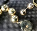 Brooks Brothers Link Bold ball choker and earrings- Image 2