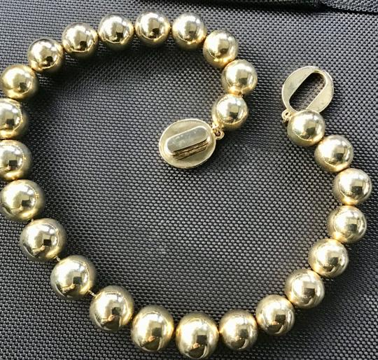 Brooks Brothers Link Bold ball choker and earrings- Image 3