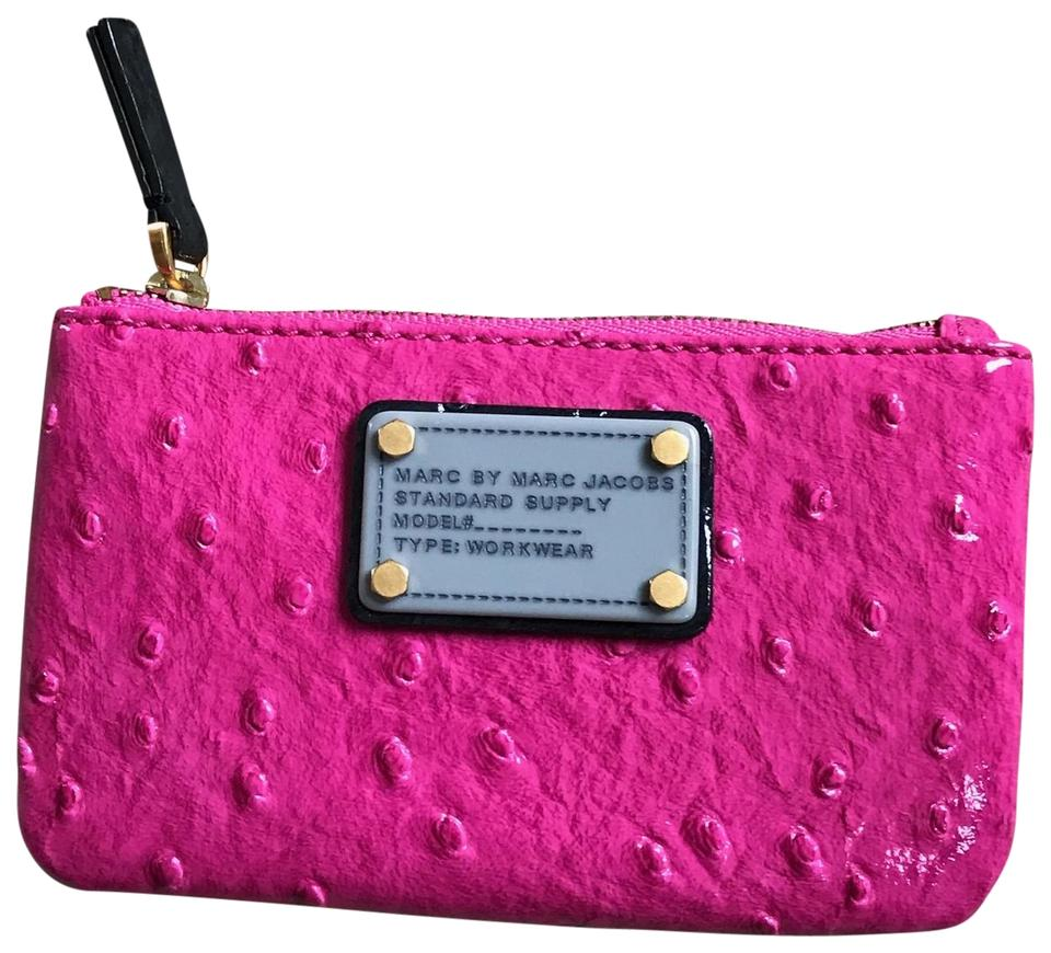 84426da2e3a05 Marc by Marc Jacobs Wallet   Coin Purse Pink Leather Wristlet - Tradesy