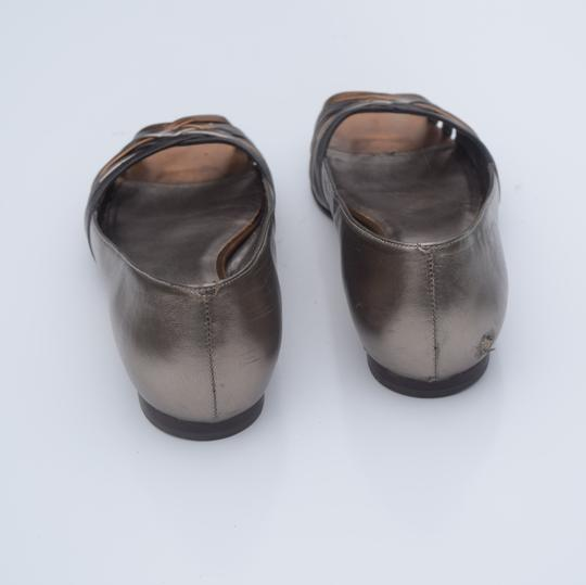 Cole Haan tan/silver Flats Image 3