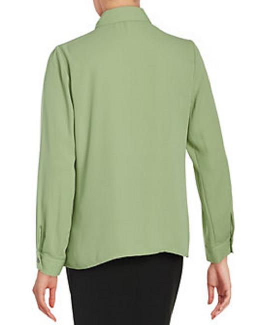 Vince Camuto Button Down Shirt Green/Watercress Image 5