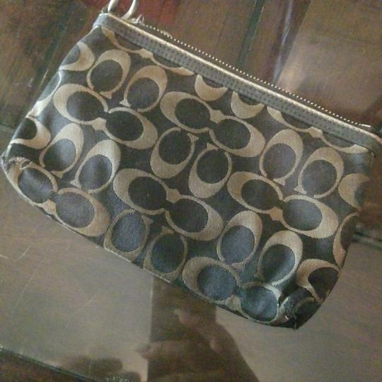 Coach NAVY AND SILVER Clutch Image 2