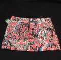 NEW Lilly Pulitzer Mini Skirt White, Black, Pink, Coral & Blue Image 2