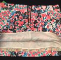 NEW Lilly Pulitzer Mini Skirt White, Black, Pink, Coral & Blue Image 5