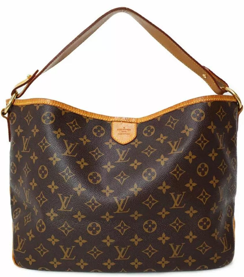 Louis Vuitton Shoulder Delightful Pm Monogram Canvas Hobo Bag