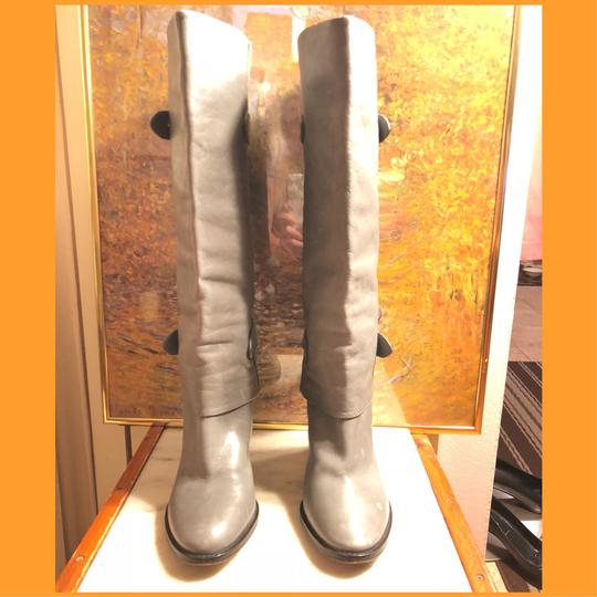 Coach Gray/Silver Boots Image 2