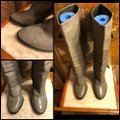 Coach Gray/Silver Boots Image 3