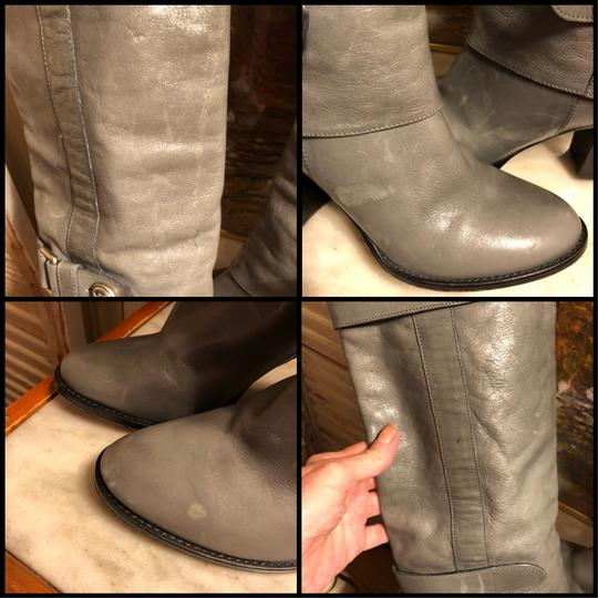 Coach Gray/Silver Boots Image 7