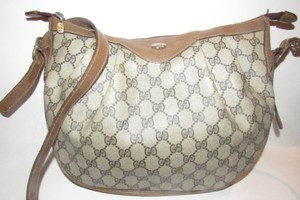 Gucci Ruched And Pleated Large G Logo Excellent Condition Hobo/Cb/Shoulder Early Sukey From Gac Hobo Bag