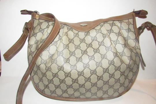 Gucci Ruched And Pleated Large G Logo Excellent Condition Hobo/Cb/Shoulder Early Sukey From Gac Hobo Bag Image 1