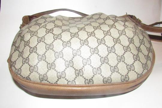 Gucci Ruched And Pleated Large G Logo Excellent Condition Hobo/Cb/Shoulder Early Sukey From Gac Hobo Bag Image 5