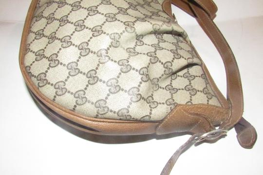 Gucci Ruched And Pleated Large G Logo Excellent Condition Hobo/Cb/Shoulder Early Sukey From Gac Hobo Bag Image 7