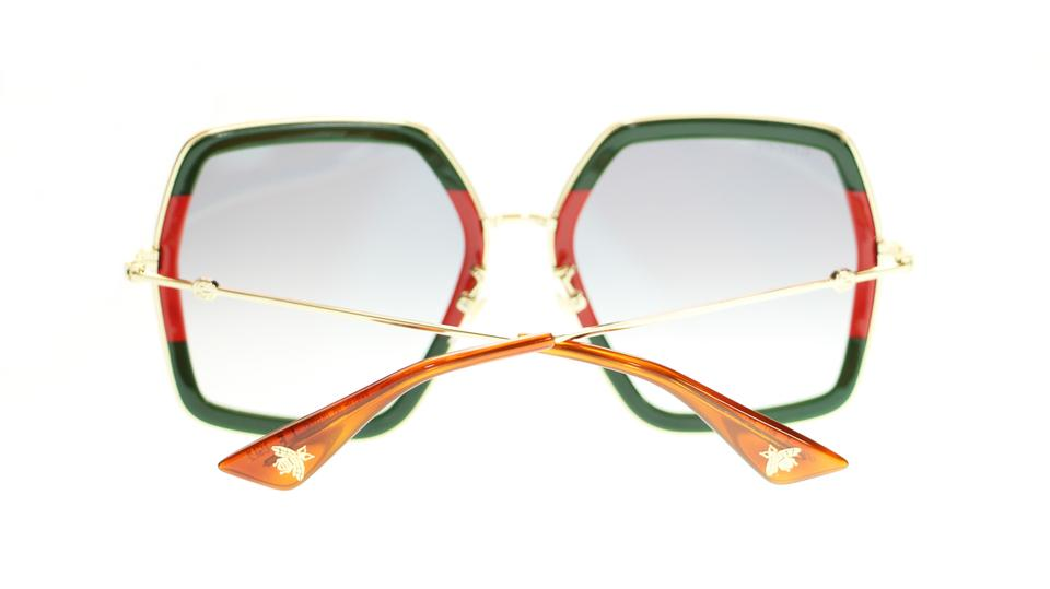 dbb93d81f Gucci Oversized Style GUCCI GG0106S 007 Extra Large Sunglasses Image 5.  123456