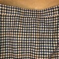 J.Crew Mini Skirt Navy, cream, brown Image 4