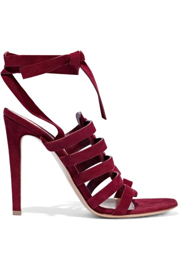 Gianvito Rossi Burgundy Pumps Image 2