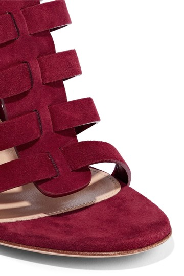 Gianvito Rossi Burgundy Pumps Image 3
