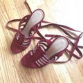 Gianvito Rossi Burgundy Pumps Image 4