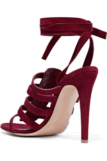 Gianvito Rossi Burgundy Pumps Image 7