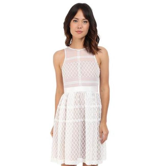 Preload https://img-static.tradesy.com/item/23779455/donna-morgan-white-and-nude-embroidered-organza-fit-and-flare-mid-length-workoffice-dress-size-8-m-0-0-650-650.jpg