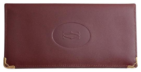 Preload https://img-static.tradesy.com/item/23779528/cartier-burgundy-bi8-fold-long-and-box-wallet-0-1-540-540.jpg