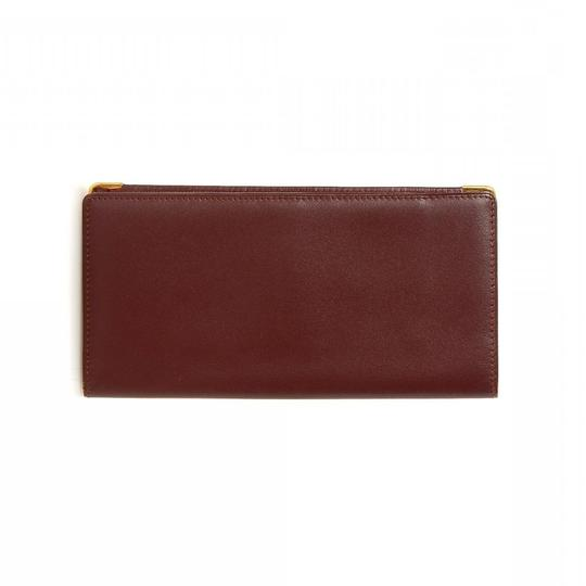 Cartier CARTIER Bi8-Fold Long Wallet and Box Image 1