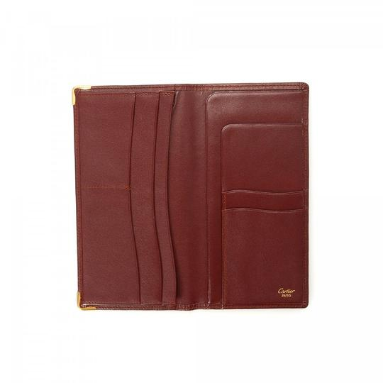 Cartier CARTIER Bi8-Fold Long Wallet and Box Image 3