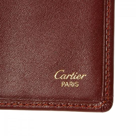 Cartier CARTIER Bi8-Fold Long Wallet and Box Image 4