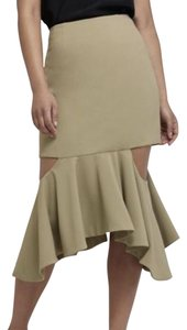 C/meo Collective C/Meo Cutout Stylish Skirt green