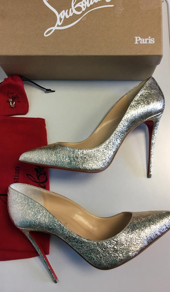 size 40 3332a 19fc3 Gold Point Leather toe Pigalle Christian Louboutin Follies ...