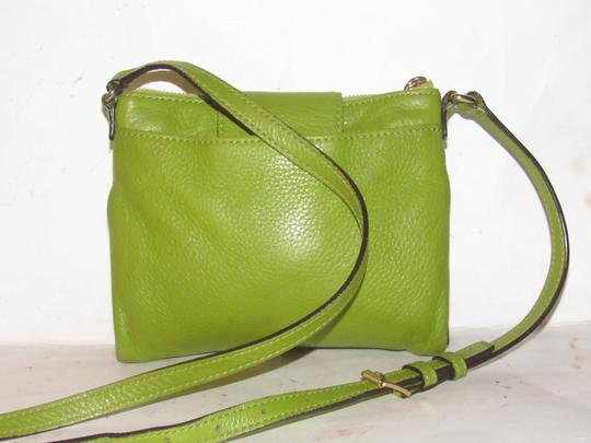 Michael Kors Lots Of Pockets/Room Mint Condition Body/Shoulder Bold Gold Hardware Great Color Cross Body Bag Image 2