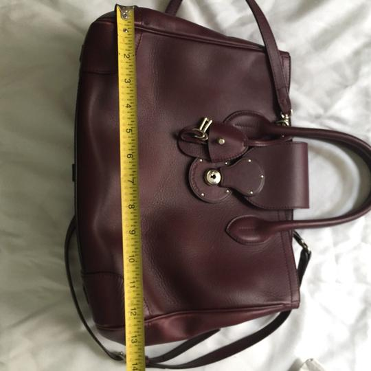 Ralph Lauren Tote in Burgundy