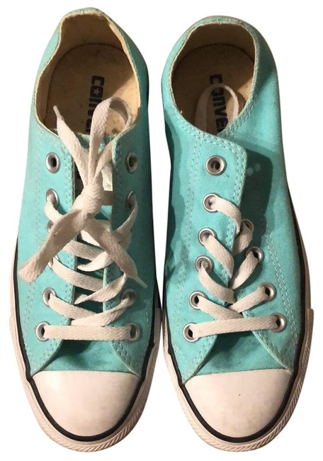 Item - Turquoise All Stars Sneakers Size US 7 Regular (M, B)