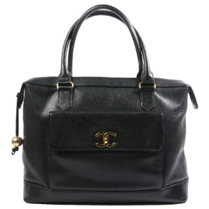 Chanel Caviar Vintage Tote in Black
