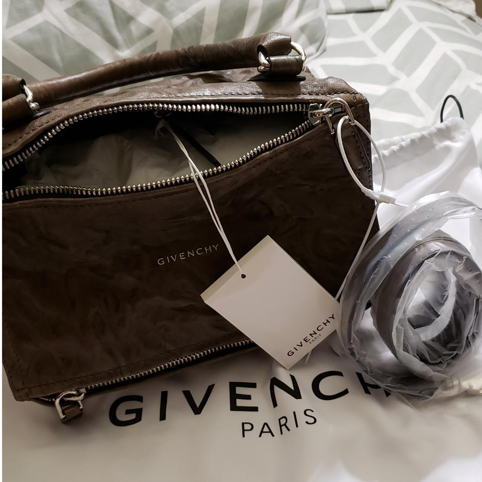 f08676e7935 Givenchy New Pandora Small Pepe Washed Shoulder Leather Tote - Tradesy