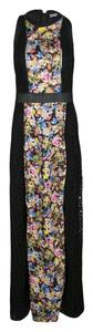 MARY KATRANTZOU Cotton Embroidered Floral Dress
