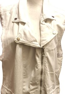 Free People short dress White Denim -- New With Tags! Destroyed Distressed on Tradesy