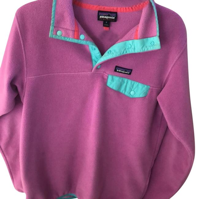 Item - Purple/Teal Snap-t Synchilla Jacket Size 8 (M)