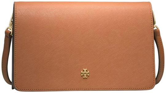 Preload https://img-static.tradesy.com/item/23781753/tory-burch-shoulder-tanbrown-saffiano-leather-cross-body-bag-0-1-540-540.jpg