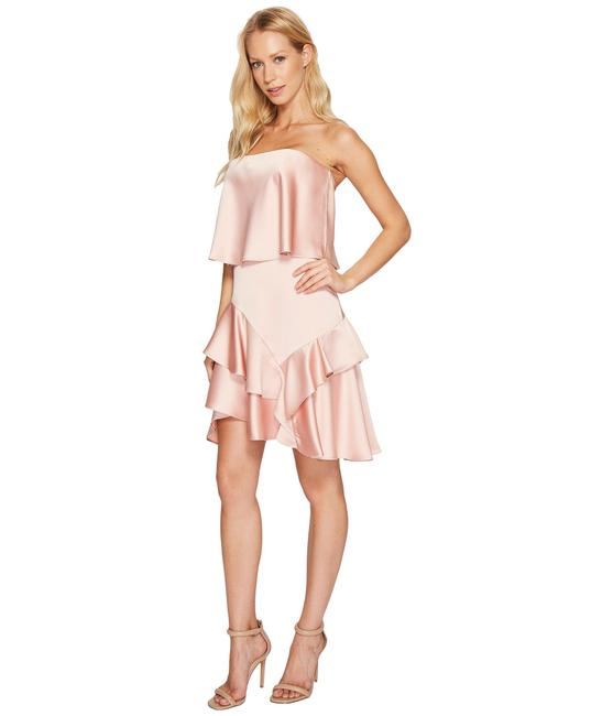 Preload https://item4.tradesy.com/images/halston-pink-spring-2018-mid-length-formal-dress-size-12-l-23781773-0-0.jpg?width=400&height=650
