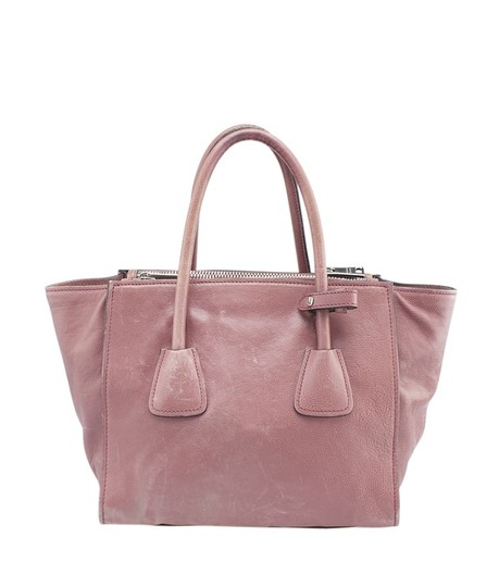 Prada Leather Satchel in Pink