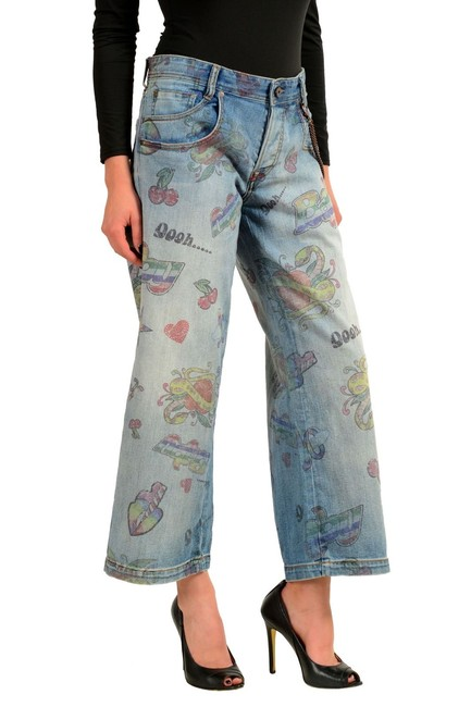 Just Cavalli Trouser/Wide Leg Jeans