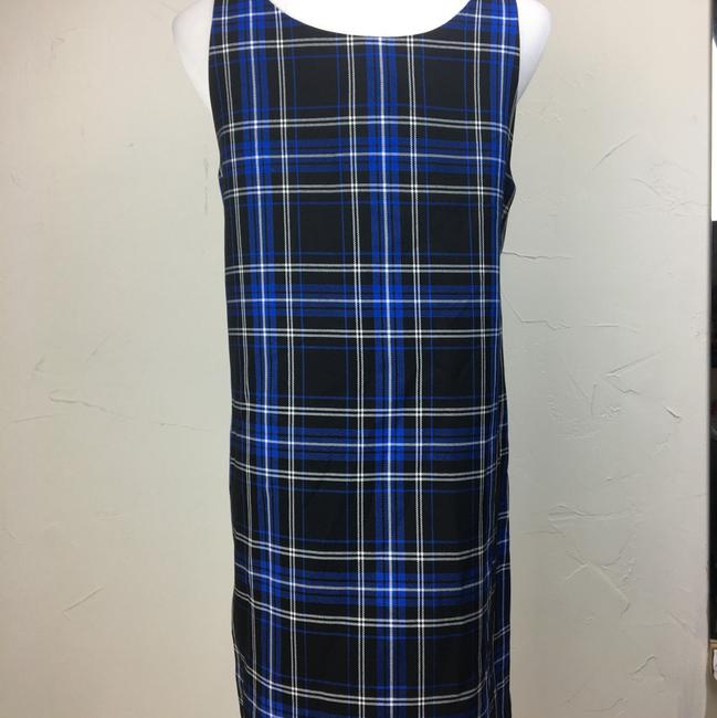 LF short dress blue black on Tradesy