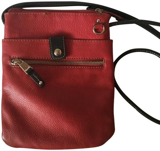 Preload https://img-static.tradesy.com/item/23781840/tignanello-with-brown-trim-red-leather-cross-body-bag-0-1-540-540.jpg