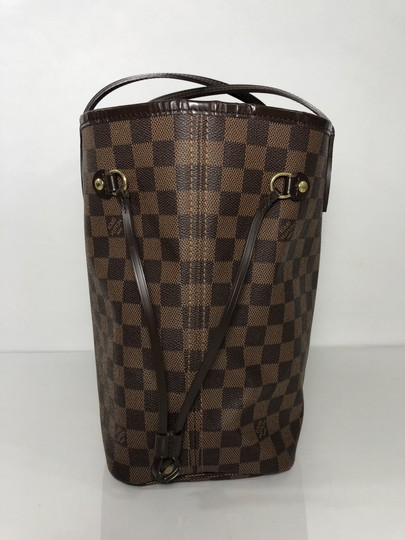 Louis Vuitton Neverfull Neverfull Mm Damier Ebene Tote in Brown