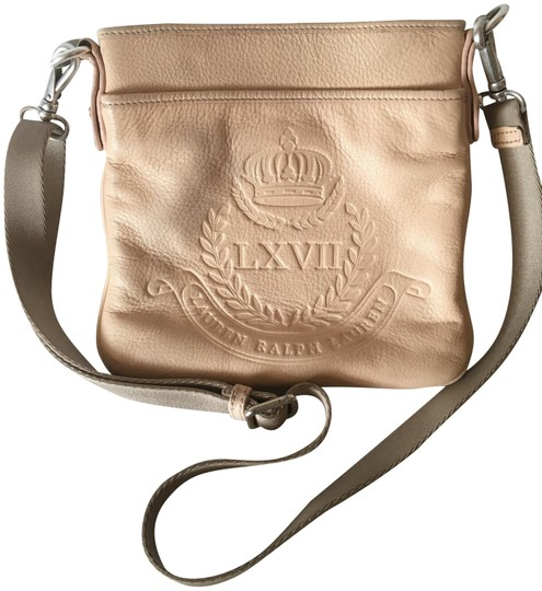 Preload https://img-static.tradesy.com/item/23781897/lauren-ralph-lauren-soft-blush-leather-cross-body-bag-0-1-540-540.jpg