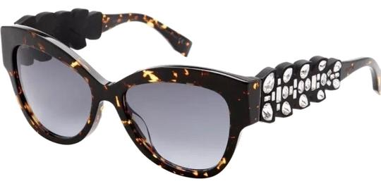Preload https://item4.tradesy.com/images/fendi-gray-havana-black-square-crystal-embelished-arms-sunglasses-23781898-0-3.jpg?width=440&height=440