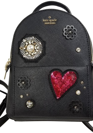 Preload https://item4.tradesy.com/images/kate-spade-finer-things-merry-black-leather-backpack-23781928-0-1.jpg?width=440&height=440
