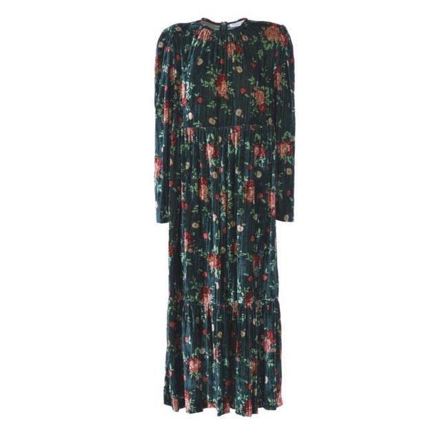Preload https://img-static.tradesy.com/item/23781931/vivetta-green-multi-velvet-santiago-long-workoffice-dress-size-10-m-0-0-650-650.jpg