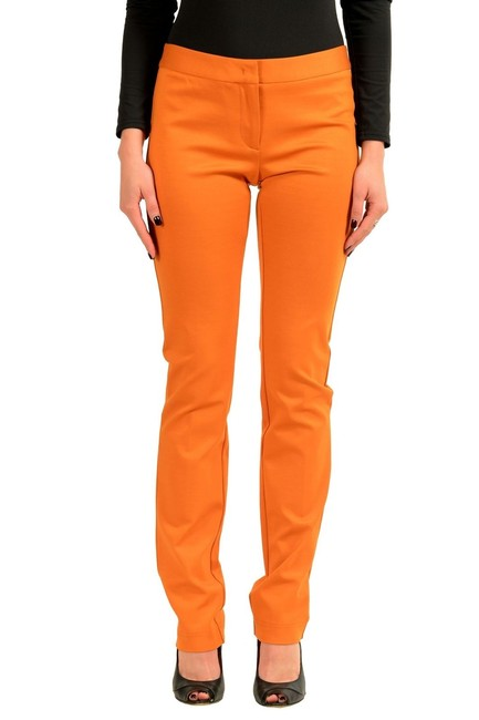 Preload https://item1.tradesy.com/images/just-cavalli-orange-women-s-stretch-casual-straight-leg-pants-size-4-s-27-23781950-0-0.jpg?width=400&height=650